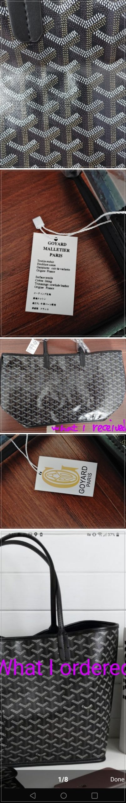 they sold wrong color bag and they still don't refund me(and it is illegal immitation bag)