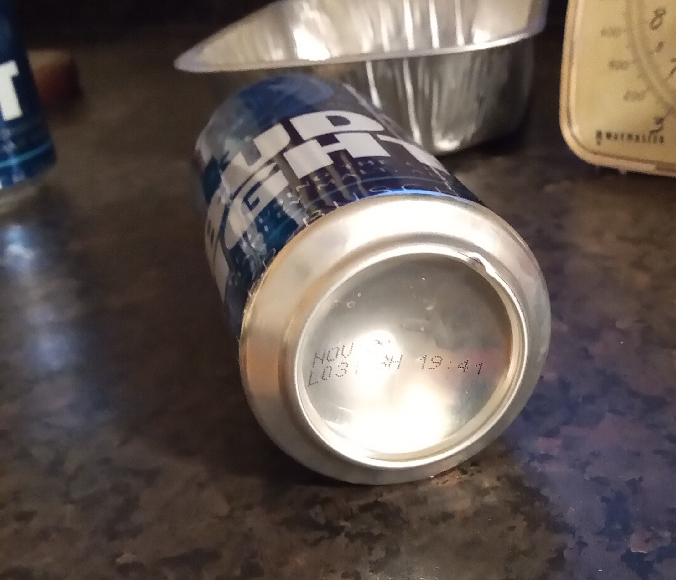 Damaged can