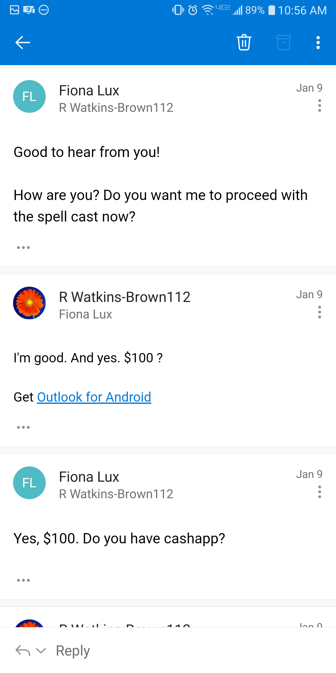 Etsy Scammer Allowed to Collect Through Cashapp