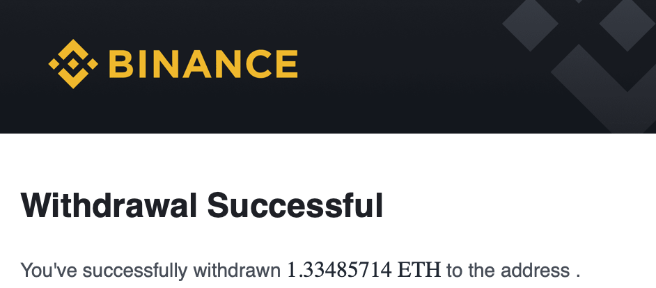 Withdrawal that has not arrive to Metamask