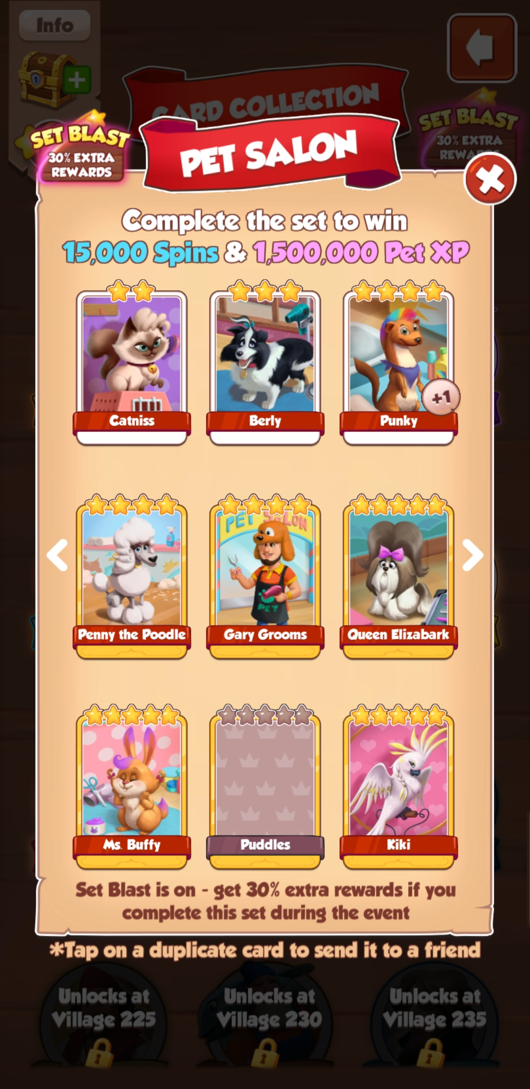 In viking not opens new golden card