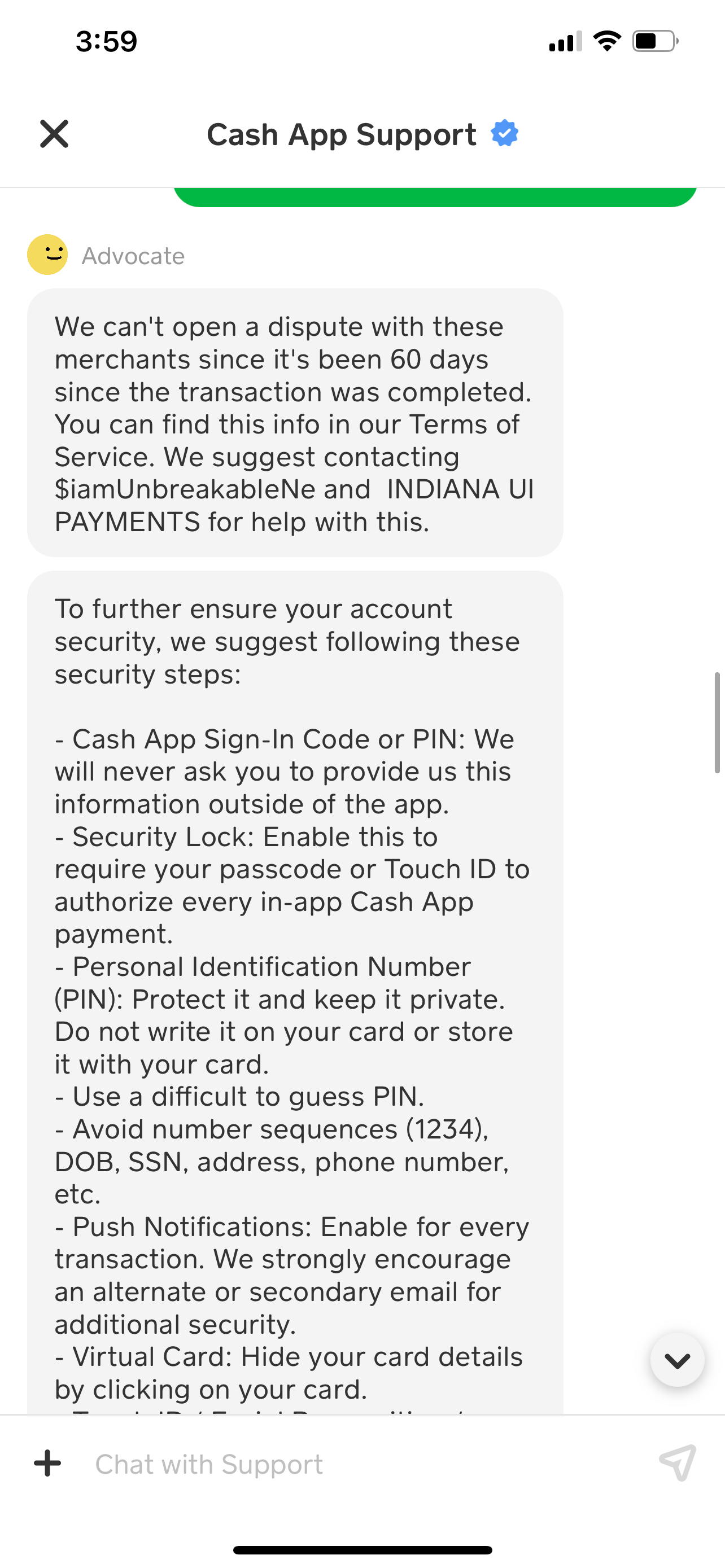 Unauthorized access to my account. Unauthorized and fraudulent payments made without my knowledge.